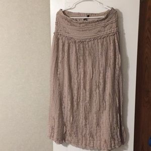Long Lapis dress.